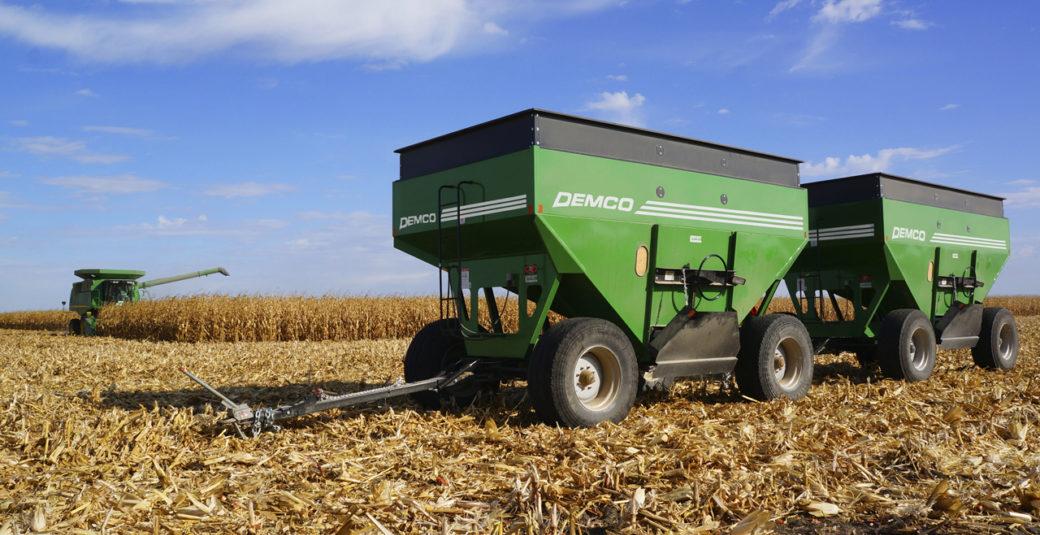 365 Wagons in field