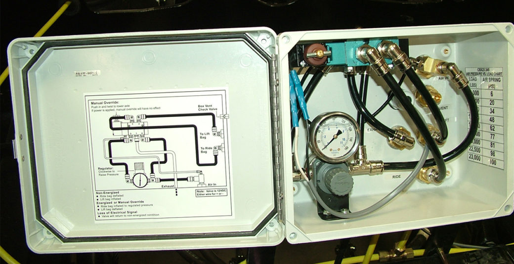 Lift Axle Control Box