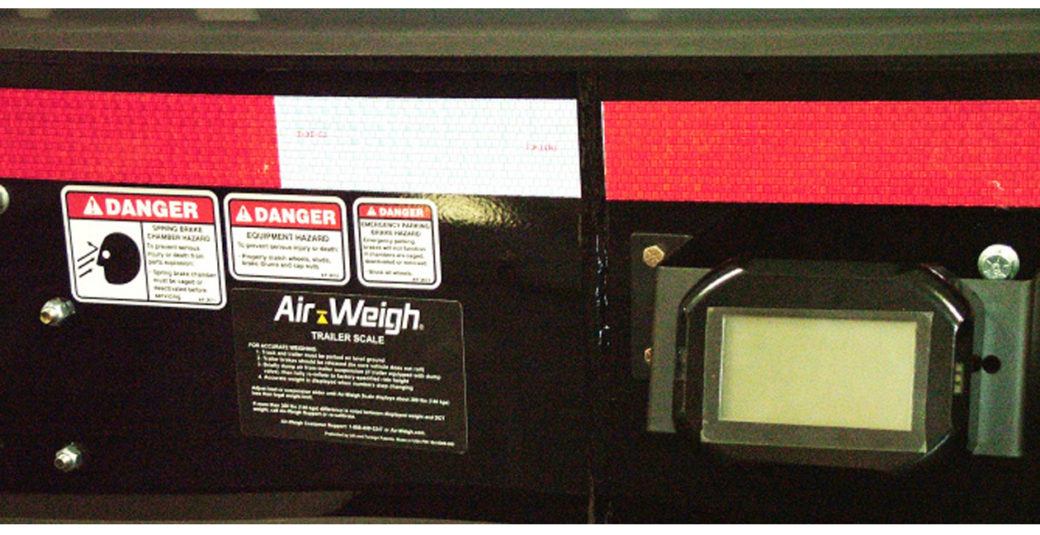 Air-Weigh Scale System